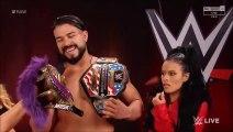 (ITA) Rey Mysterio attacca Andrade per riprendersi la maschera - WWE RAW 06/01/2020