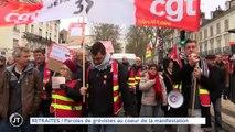 RETRAITES Paroles de grévistes au coeur de la manifestation