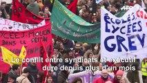 Retraites: paroles de manifestants à Paris
