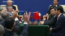 Próxima firma del acuerdo comercial entre China y Estados Unidos