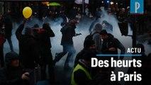 Réforme des retraites : des tensions lors de la manifestation à Paris