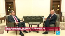 'I was scared to stay in Japan,' Carlos Ghosn tells FRANCE 24