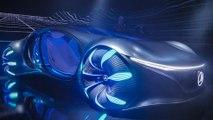 L'incroyable concept-car Avatar de Mercedes-Benz - CES 2020