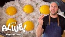 Brad Makes Cured Egg Yolks