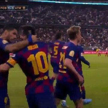 LionelMessi Goal 1-1 (Full Replay)