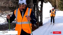 Malvoyants, ils se lancent à l'assaut d'une course de ski de fond en Finlande