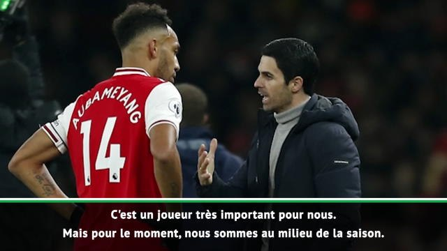 "Arsenal - Arteta : ""Garder Aubameyang"""