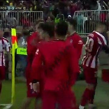 Angel Correa Goal - Barcelona 2-3 Atletico Madrid (Full Replay)
