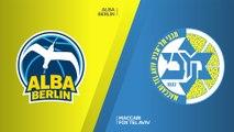 ALBA Berlin - Maccabi FOX Tel Aviv Highlights | Turkish Airlines EuroLeague, RS Round 18