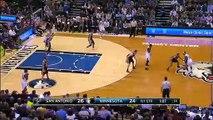 San Antonio Spurs 121-92 Minnesota Timberwolves
