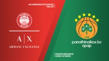 AX Armani Exchange Milan - Panathinaikos OPAP Athens Highlights | EuroLeague, RS Round 18