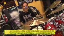 ¡Alex Lora sigue en batalla legal contra el ex baterista que lo demandó!   Ventaneando