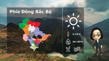 10/01/2020 Vietnam weather forecast