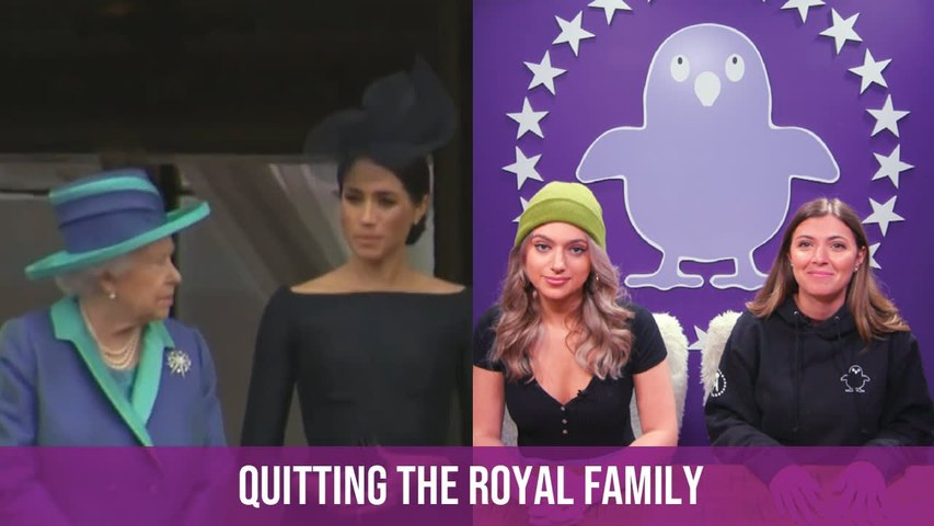 """The Royal Family Is On EDGE After Prince Harry And Meghan Markle """"Step Away"""" From Royal Duties"""