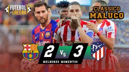 Barcelona 2 x 3 Atlético de Madrid   ATLÉTI NA FINAL   Melhores Momentos   HD 09/01/2020
