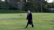 Trump, Ohio'da düzenlenecek olan seçim kampanyası mitingine katılmak için Beyaz Saray'dan ayrıldı -...
