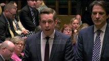 Brexit ratifikohet nga Dhoma e Komuneve në Parlamentin Britanik