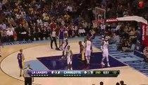 Los Angeles Lakers 100-93 Charlotte Bobcats