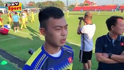 Hậu vệ trái Thanh Thịnh thổ lộ ước nguyện trước thềm VCK U23 châu Á