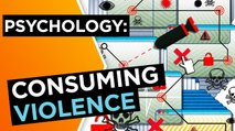 What are the psychological effects of consuming violence online?