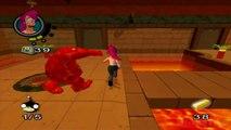 Futurama Walkthrough Part 16 (PS2, XBOX) Level 16- Right Wing