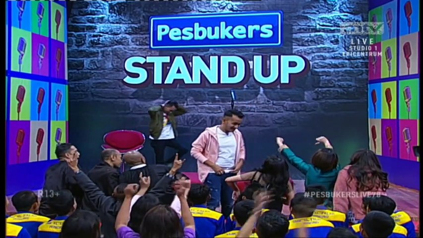 Giliran Zaskia Ghotik Di Cengin Sama Cemen di Stand Up Comedynya Pesbukers