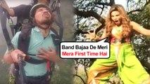 Rakhi Sawant HILARIOUS STUNT Video, Reminds Us Of Paragliding Man