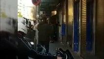 Multitudinaria pelea entre dos bandas de narcotraficantes en Badalona