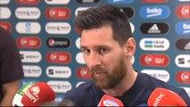 """Messi: """"Cometimos errores que nos llevaron a entregar el partido"""""""