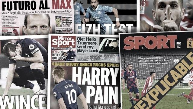 La presse catalane crie au scandale, l'AC Milan rêve de Massimiliano Allegri