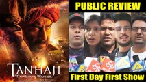 "Tanhaji मूवी Public REVIEW  ""Heart Touching"" 