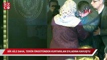 Diyarbakır'da bir aile daha, terör örgütünden kurtarılan evladına kavuştu
