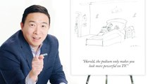 How to Write a New Yorker Cartoon Caption: Andrew Yang Edition