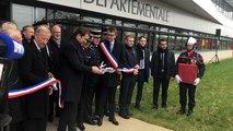 Inauguration du Sdis 53 par le ministre de l'Intérieur, Christophe Castaner
