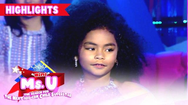 Khevynne Arias wins as the Mini Miss U of the Day | It's Showtime Mini Miss U