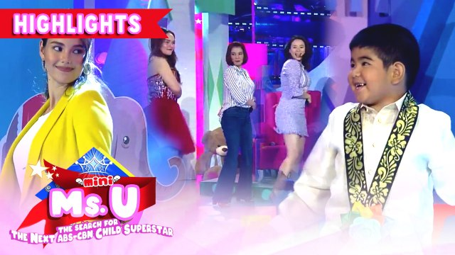 Yorme, Catriona and the It's Showtime hosts dance Tala | It's Showtime Mini Miss U