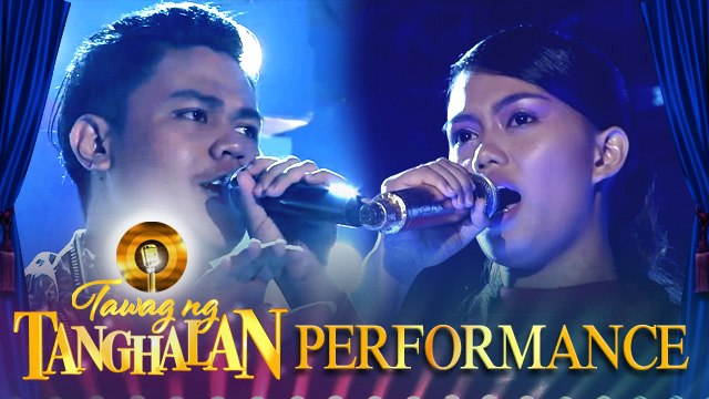 Joshua Madrid steals the golden microphone from Laika Olmoguez   Tawag ng Tanghalan