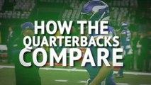 How the eight remaining quarterbacks compare