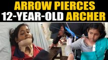 12-year-old Assam Archer airlifted to Delhi after arrow pierces her shoulder|Oneindia