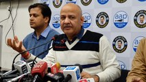 If criminals move freely, BJP should be ashamed: Sisodia