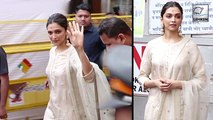 Deepika Padukone Visits Siddhivinayak Temple After Chhapaak Release