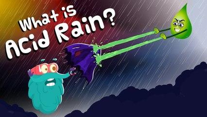 What is ACID RAIN?   Acid Rain   Dr Binocs Show   Kids Learning Video   Peekaboo Kidz