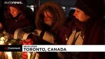 NO COMMENT | Vigilia en Toronto por los fallecidos en el avión que se estrelló en Irán
