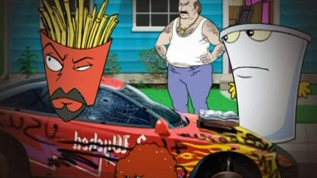 Aqua Teen Hunger Force S04E03 Star Studded Xmas Spectacular