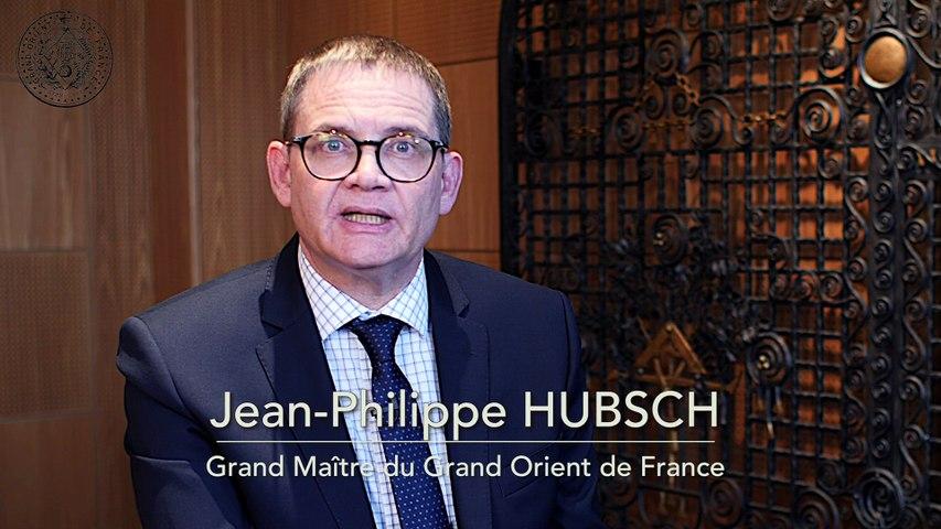 Vœux 2020 de Jean-Philippe HUBSCH, Grand Maître du Grand Orient de France