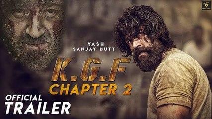 KGF chapter 2 Making Video  Sanjay datt   Cinimatic trailer