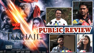 Public Review| 'Tanhaji: The Unsung Warrior' |  Ajay, Kajol starrer historical period drama