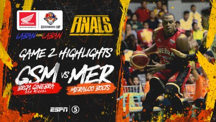 Highlights: G2: Ginebra vs Meralco | PBA Governors' Cup 2019 Finals