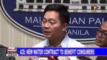 Palace: New water contract to benefit consumers