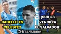 SPORTING CRISTAL: CARLOS CABELLO ES CELESTE [OFICIAL] | SELECCIÓN PERUANA SUB 23 2-0 EL SALVADOR